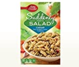 Betty Crocker, Suddenly Salad, Pasta Caesar, 7.25oz Box (Pack of 4)