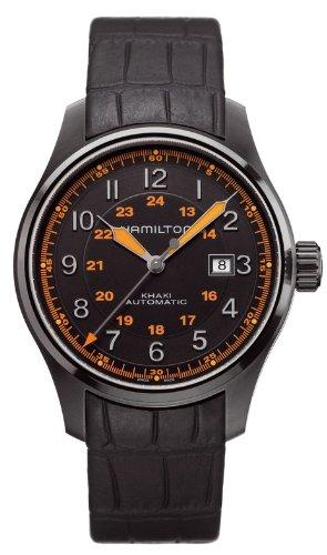Hamilton Khaki Aviation H70685337 Reloj para hombres Legibilidad Excelente: Amazon.es: Relojes