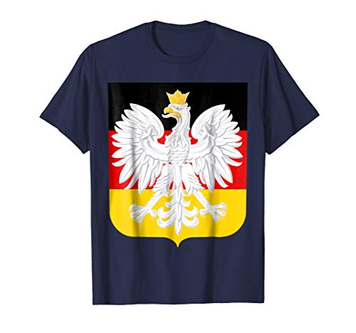 Polish German Coat of Arms Family Heritage T-Shirt ()