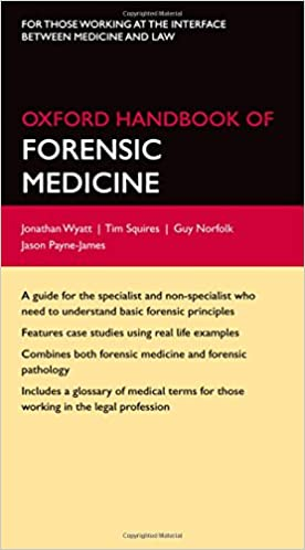 Oxford Handbook Of Forensic Medicine Oxford Medical Handbooks 9780199229949 Medicine Health Science Books Amazon Com