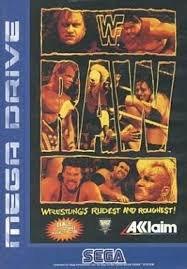 WWF RAW(ロウ) MD 【メガドライブ】