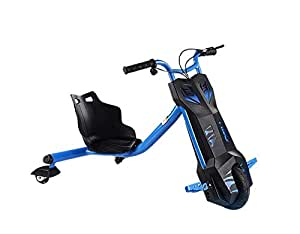 Drifting electric power scooter high speed & bluetooth 3 wheel   - Blue