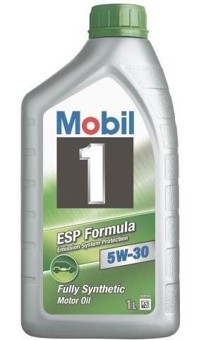 Mobil 1 5W-30 ESP Synthetic Motor Oil, 1 Liter Bottles (case of 12) by Mobil 1
