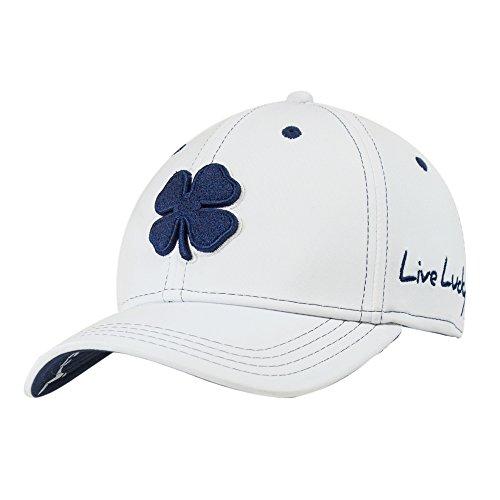 Black Clover Mens Premium Clover #12 Navy/White/White Small/Medium Fitted Hat - 617353831443