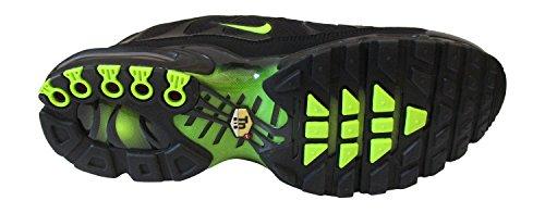 Nike Men's Air Max Plus TXT Running Shoes Black/Volt clearance finishline cheap sale discount gmBJhh
