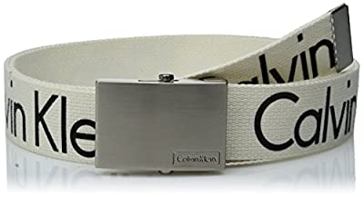 Calvin Klein Men's Calvin Klein 38mm Web Belt With Logo