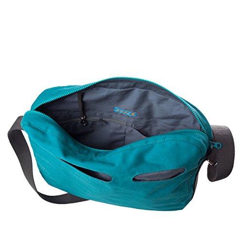 mamix–Tasche 2Blasen–Große Leinwand wasserabweisend Grün