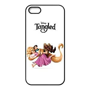 Tangled Cartoon iPhone 4 4s Cell Phone Case Black present pp001_9665526