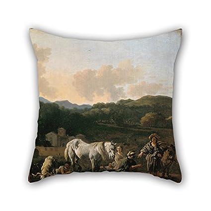 Amazon.com: Pillow Covers Of Oil Painting Du Jardin, Karel ...