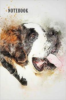 Notebook: St Bernard Dog Book Notepad Notebook Composition And Journal Gratitude Diary Epub Descargar