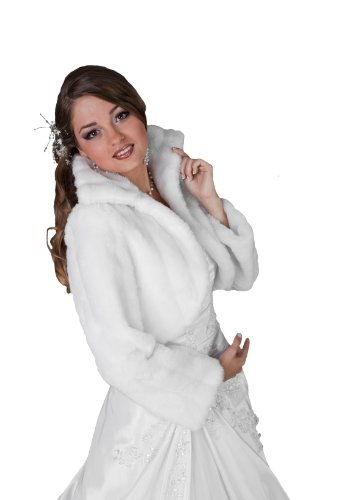 Veste blanc ivoire noir femme pour mari