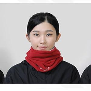 Incntro Winter Kids Neck Warmer Red Color for Ski Motor Skiboarding