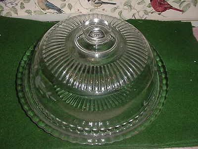 Amazoncom Princess House Crystal Domed Cake Plate Hostess Only