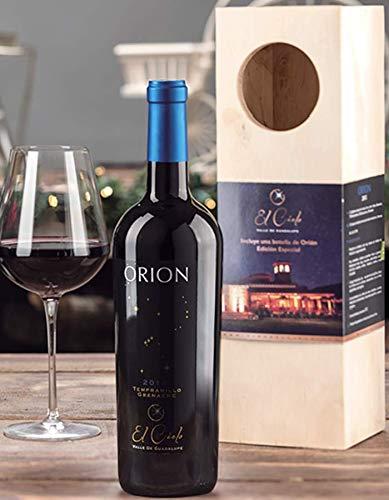 Vino Tinto Orion El Cielo 750 Ml + Caja De Madera de Regalo