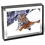 New 2013 Color The original acrylic MAGNET FRAME with Graphite Edge by Canetti - 2.5x3.5