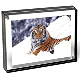 Color Edge Magnet Frame by Canetti-Graphite-4x6 inch