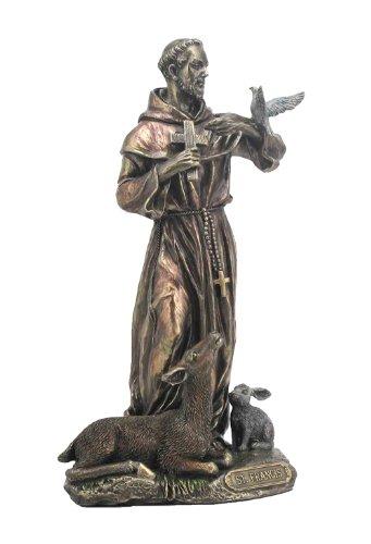 (Sale - Saint Francis of Assisi Statue Sculpture )
