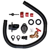 Earth Minded Rain Barrel Diverter and Parts Kit