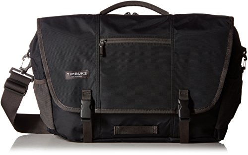 Timbuk2 Commute Messenger Bag, Jet Black, M, Medium
