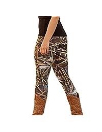 Shensee Vintage Women Skinny Printed Stretchy Autumn Pants Leggings