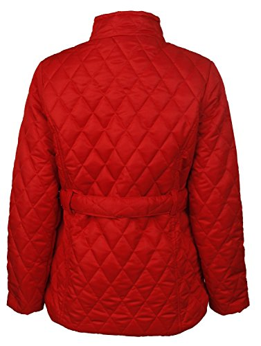 Weight Red FK Womens Light Styles Quilted Barbar Padded Jacket Style xAw0RxUq