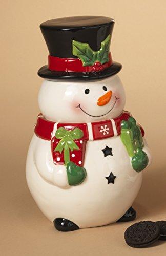 Adorable Ceramic Christmas Holiday Season Cookie Candy Treat Jars 10