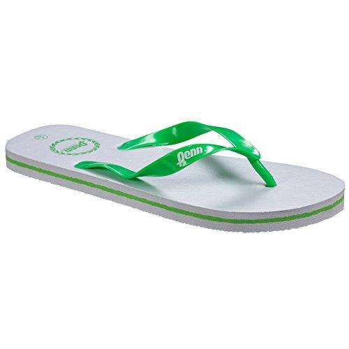 Infradito Penn Unisex Bianco / Verde