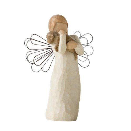 Willow Tree Angel of Friendship - Dog Angel Figurine