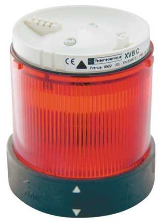 SCHNEIDER ELECTRIC XVBC4M4 model Name 240Vac Incandescent Tower Light Module Flashing with 70Mm Dia.,Red