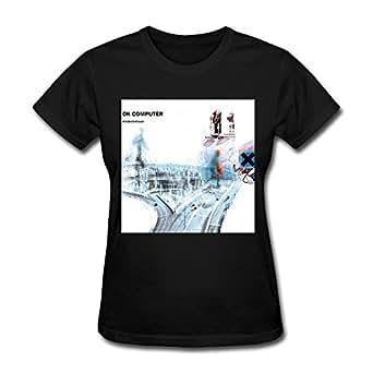Women's Ok Computer Radiohead Album T-Shirt Black