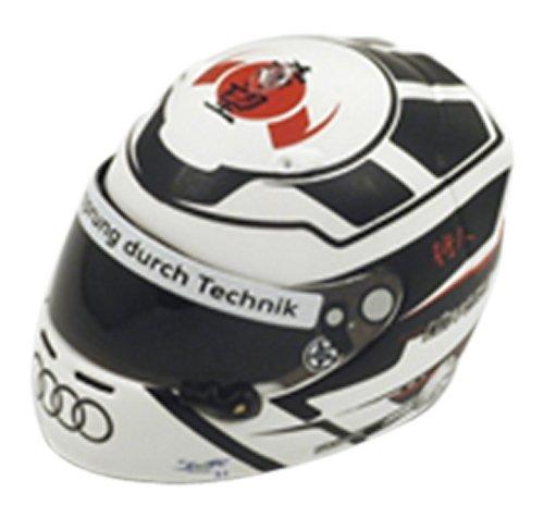 1/8 A. ロッテラー ヘルメット 2012年ル・マン24時間レース アウディスポーツ・チーム・ヨースト #1 アウディ・R18 e-tronクアトロ 総合優勝品 HLM005