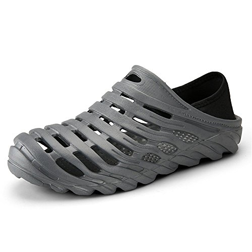 2018 Grigio resistenti scivoli I uomo Sandali Uomo Blu Color zoccoli sandali degli shoes a e casual 40 Dimensione sono da traspiranti Xujw da EU gZCOwq5E