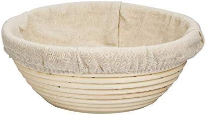 Amazon com: Bread Rising Proofing Basket,Banneton Brotform