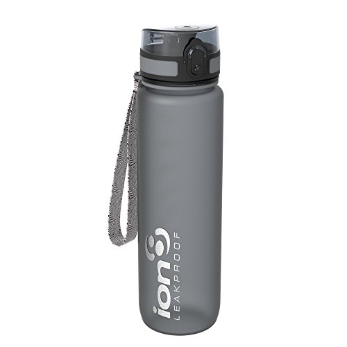 Ion8 Leak Proof Gym, Outdoors & Camping Water Bottle, BPA Free, 1 litre /...