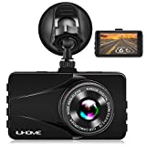 Cheap 【Alloy Shell】 Ilihome Dash Cam Full HD 1080P Car Camera 3.0″ Screen Dashboard Camera DVR Car Recorder with G-Sensor, WDR, Loop Recording, Motion Detection, Night Vision, Parking Monitor