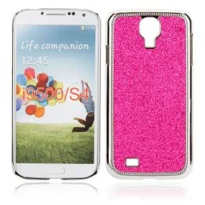 Electroplated Glitter Protective Case for Samsung S4 i9500 Rose