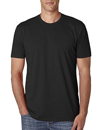 Next Level Mens CVC Crew N6210 - Black_M (Polyester Crew T-shirt)