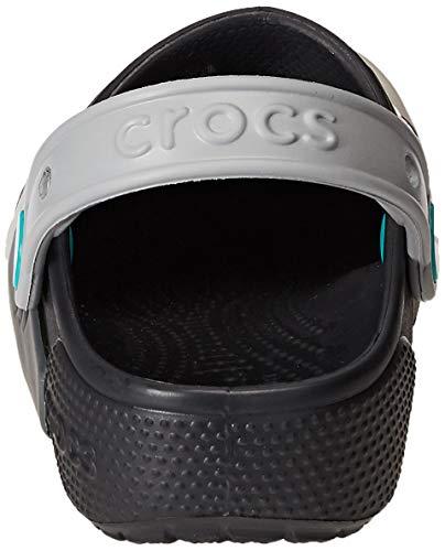 Crocs Baby Kids' Fun Lab Light-Up Clog, Black, 9 M US Toddler by Crocs (Image #2)