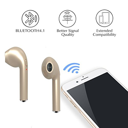 hangang S3 Super Long Standby, with Mobile Power, Insert USB Bluetooth Wireless Headset 12027GOLD
