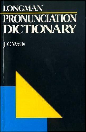 Longman Pronunciation Dictionary Pdf