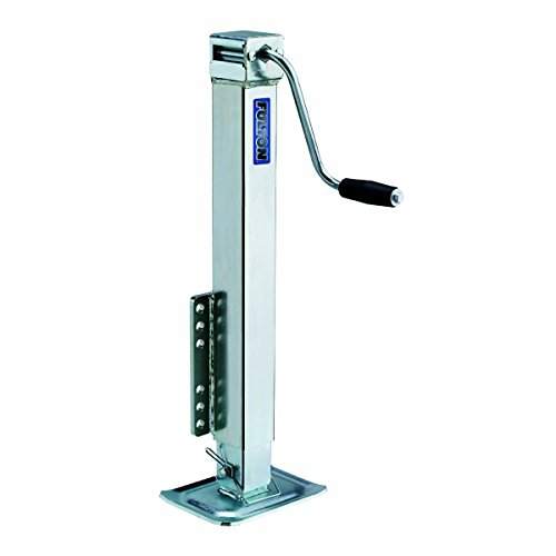 Fulton HD50000101 Bolt-On Trailer Tongue Jack with Drop Leg - 5000 lb. Weight Capacity by Fulton