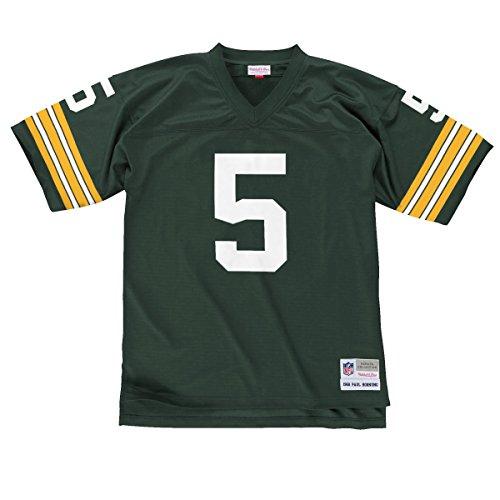 Paul Hornung Green Bay Packers Men's NFL Mitchell & Ness Premier Green Jersey ()