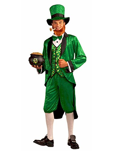 Forum Mr.Leprechaun Costume, Green, Adult -