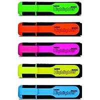Fosforlu Kalem - NOKI - 5'li Set - Aynı Gün Ücretsiz Kargo