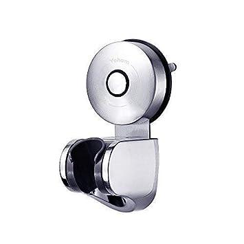 YOHOM - Toallero de acero inoxidable con ventosa para toallas, accesorios de baño: Amazon.es: Hogar