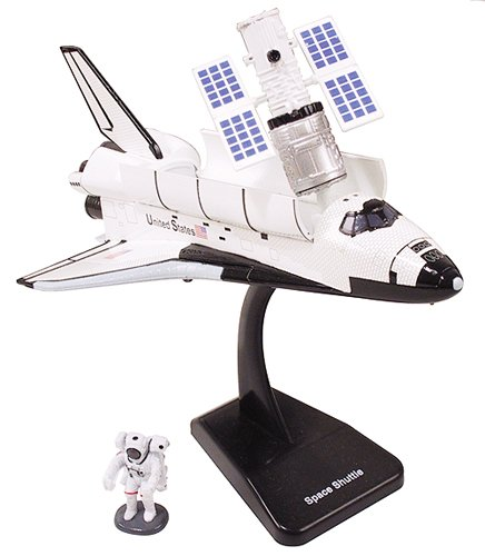 Plastic Nasa Model Kit (Nasa Space Adventure Child Plastic Toy Model Kit - Space Rocket by New Ray)