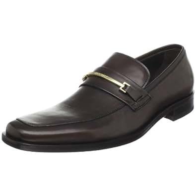 BOSS HUGO BOSS Men's Carl Loafer,Medium Brown,11.5 M US