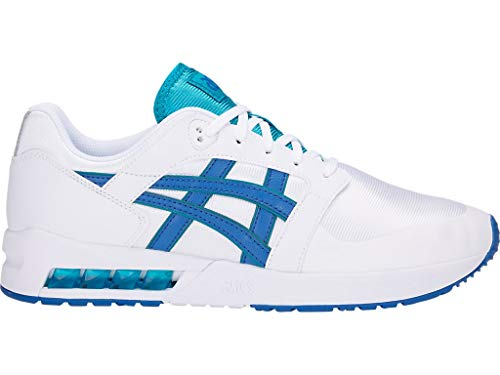 ASICS Tiger Men's Gel-Saga SOU White/Illusion Blue 9 D ()