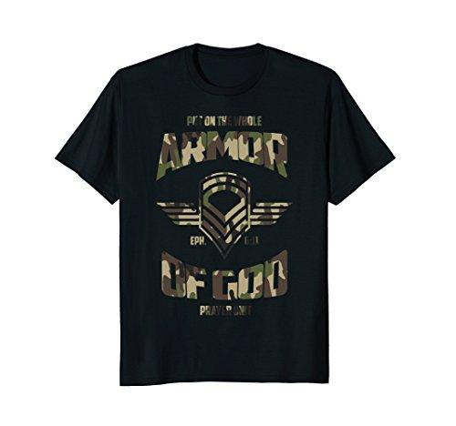 Put on the Armor of God Christian Camo T-Shirt