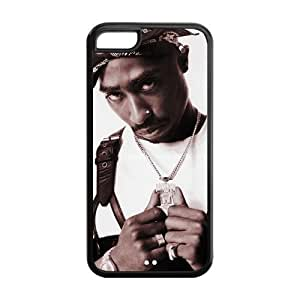 Diystore Tupac 2Pac IPHONE 5C Best Rubber Cover Case